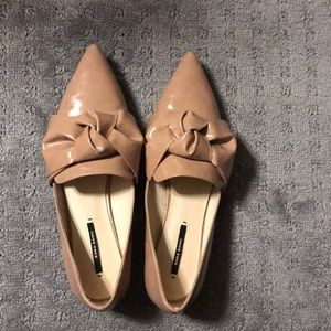 Zara basic flat shoes.